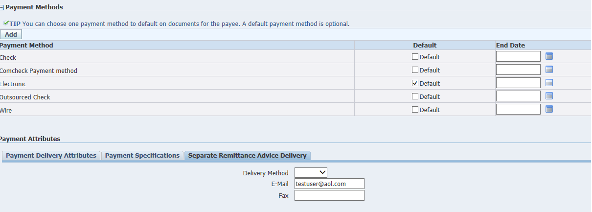 Remittance Advice Email ID for Supplier – Remittance Advice Template